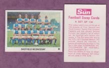 Sheffield Wednesday Team 41